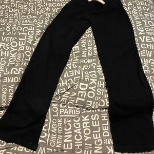 Women's NWT black sweatpants XS